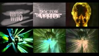 All Doctor Who titles together (1963-1979)