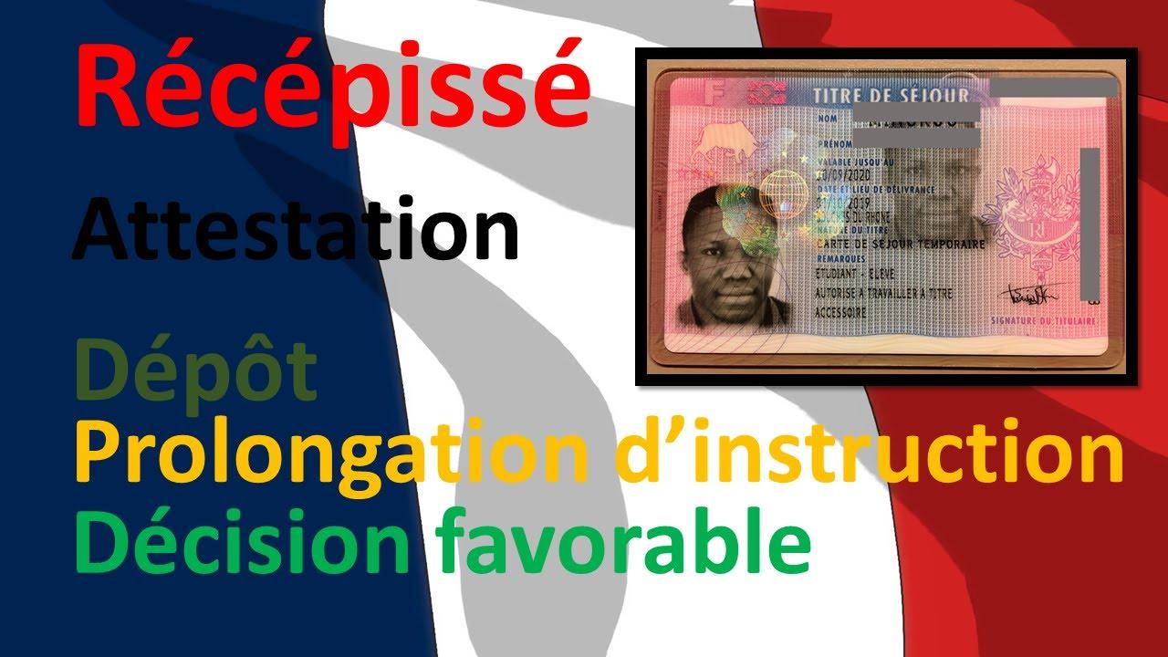Etudiant en France: ce qu'il faut savoir après demande ou renouvellement en ligne du titre de séjour