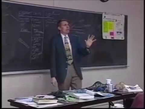 Dr Dino Kent E Hovind Debate College Florida 1992 Where did God come from Mr Flat Mrs Flat