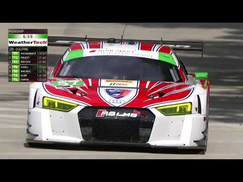 2017 Chevrolet Sports Car Class Qualifying