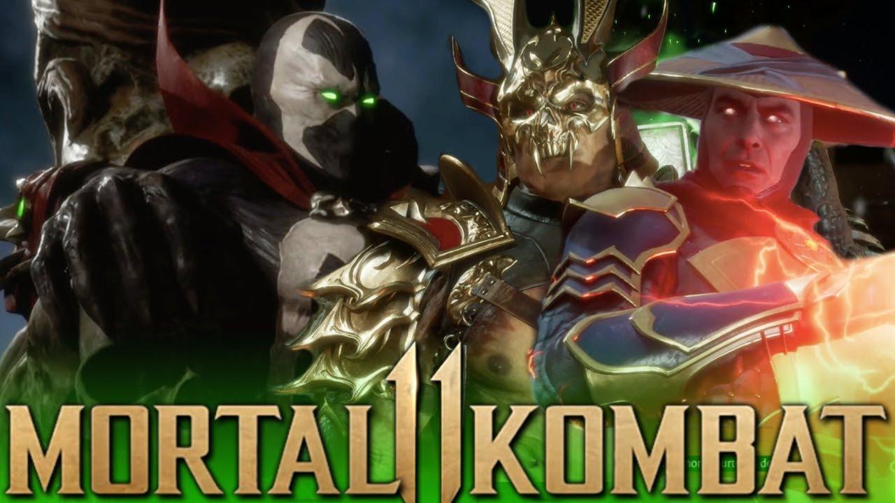 Mortal Kombat 11 - All SPAWN Brutalities Performed on