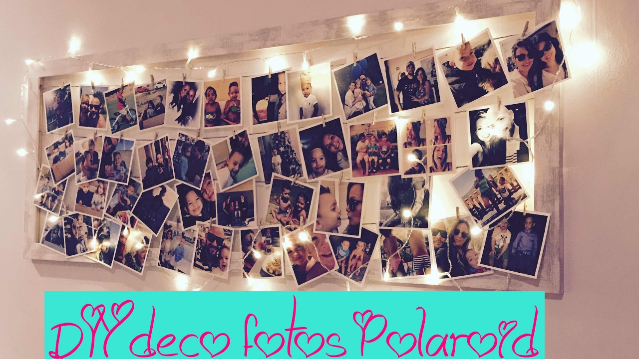 IDEA REGALO DÍA DEL PADRE | DIY MARCO PARA FOTOS POLAROID - YouTube