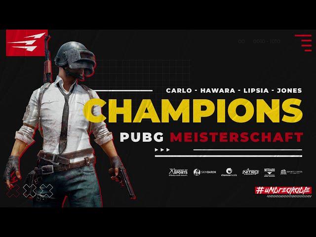 Highlights PUBG D/A/CH Meisterschaft Finals