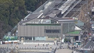 JR原宿駅 新駅舎の建設状況(2020年3月15日)
