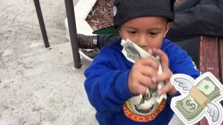 amazing 3 year old skater   4 stairs raw and uncut