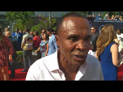2018 ESPY'S Interview With Boxing Icon Sugar Ray Leomard ...