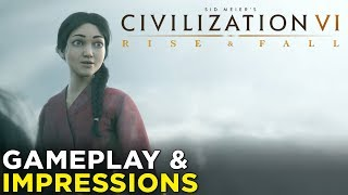 Video Civilization VI: Rise and Fall — HANDS-ON Impressions & Gameplay! download MP3, 3GP, MP4, WEBM, AVI, FLV Maret 2018