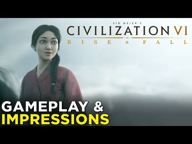 Civilization 6: Rise and Fall adds new perils to world