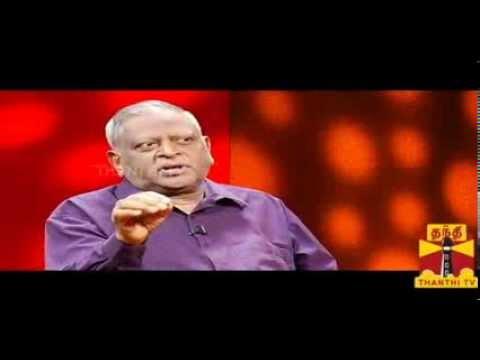 KELVIKKENNA BATHIL - Former CBI Officer Ragothaman 01.12.13 THANTHI TV