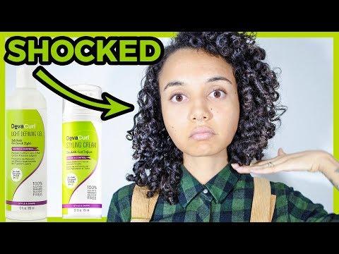 Deva Curl Gel Vs Ecostyler Gel On Thick Curly Hair Doovi