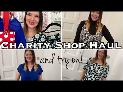 Charity Shop Haul & Try On | All Items £1 | DKNY | Oliver Bonas | ASOS | Primark | New Look | H&M