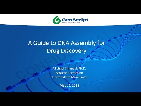 Webinar - A Guide to Harnessing DNA Assembly for Drug Discovery
