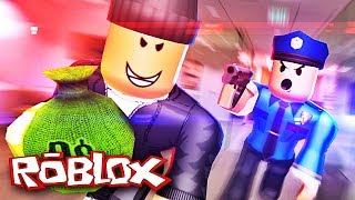 I'M A BANK ROBBER! Roblox Rob the Bank