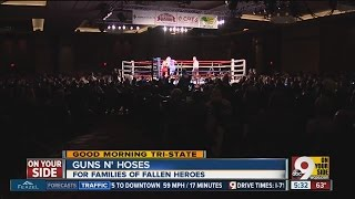 Guns 'N Hoses boxing events benefits Cincinnati police and firefighters