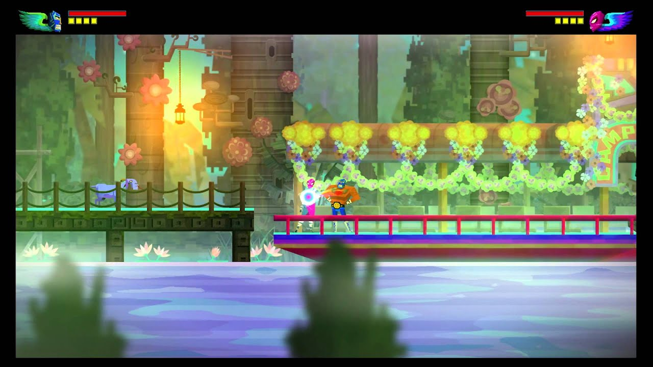 Guacamelee! Wii U Interview and Direct-Feed Footage