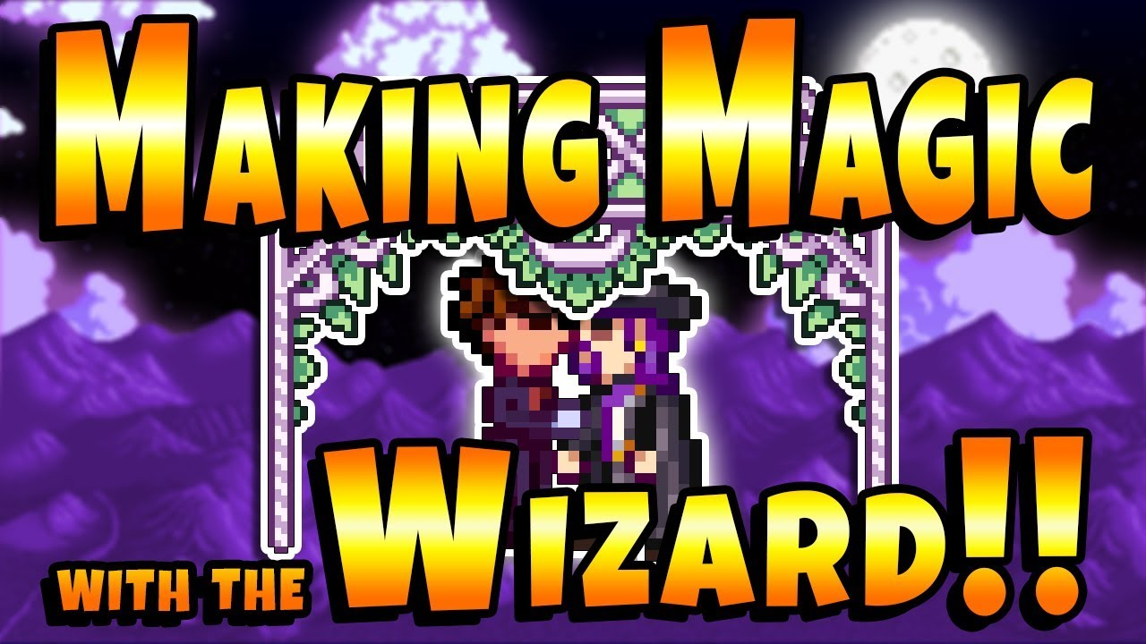 New Wizard Mod! 5 New Heart Events! - Stardew Valley