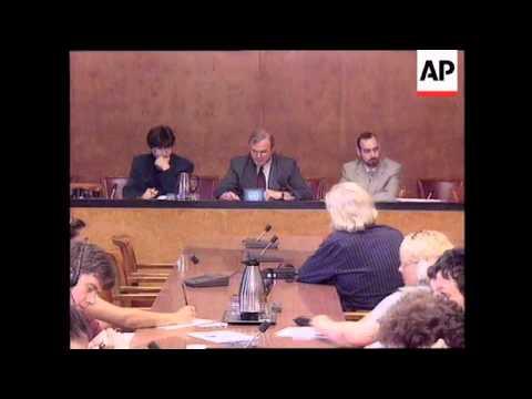 YUGOSLAVIA: GREEK PREMIER MITSOTAKIS MEETS MILOSEVIC