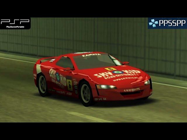 Ridge Racer - PSP Gameplay 1080p (PPSSPP)