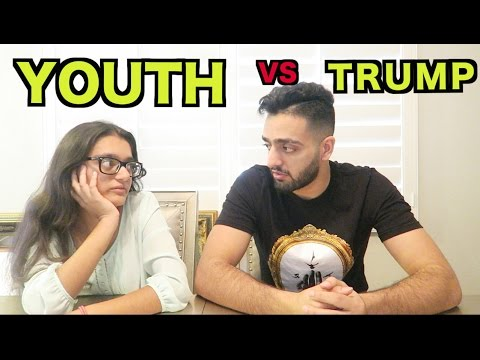 YOUTH REACTS TO DONALD TRUMP! (Shocking)