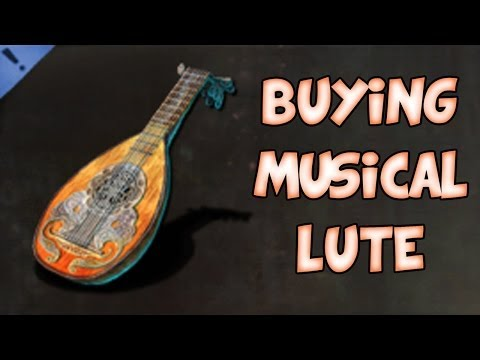 BUYING MUSICAL LUTE! | Guild Wars 2 Gemstore Shopping #047