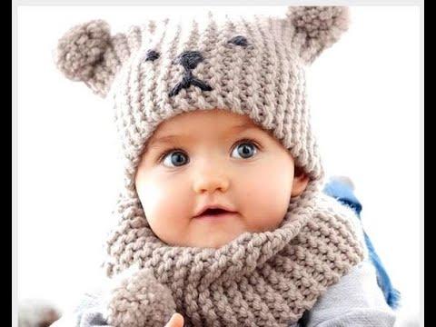 Детский шапка крючком