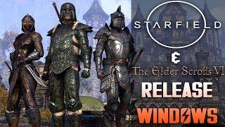 Bethesda Gives STARFIELD & Elder Scrolls 6 Release Windows!