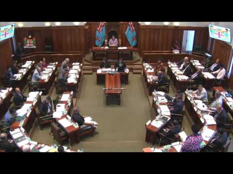 Fijian Minister for Employment informs Parliament on National Employment Centre work placement