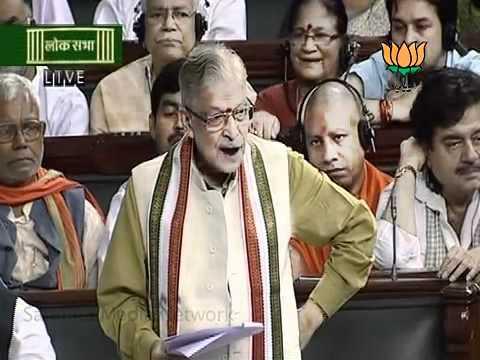 Dr  Murli Manohar Joshi Speech In Lok Sabha