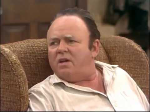 Archie Bunker explains why cave women had short legs & fat butts.