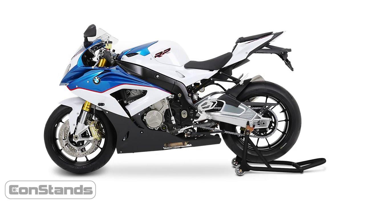 B/équille de Range Moto Arri/ère ConStands Mover II Racing noir