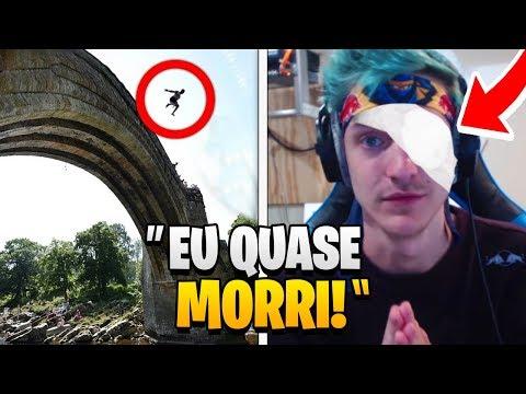 7 Youtubers De Fortnite Que QUASE MORRERAM!