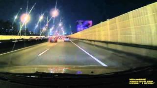 Mio 688道路實拍|夜間|市民大道|偏離車道提醒測試