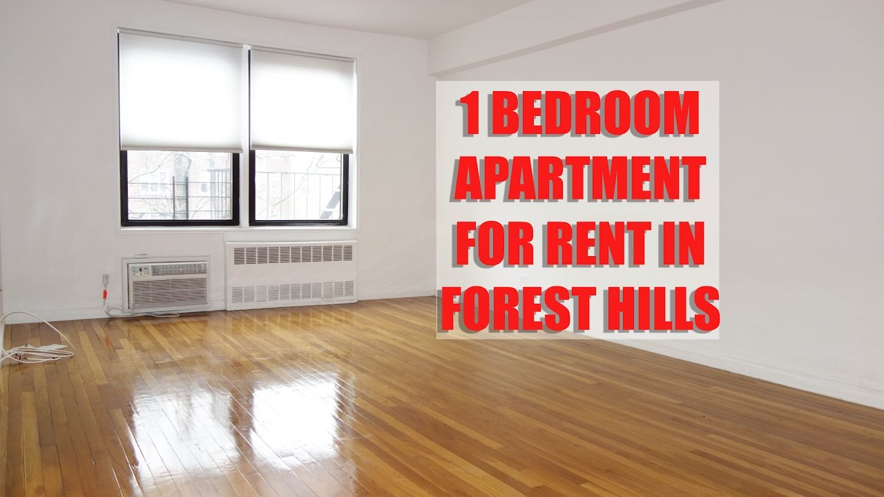 Extra large 1 bedroom apartment for rent in forest hills queens nyc youtube for 1 bedroom apartments in queens