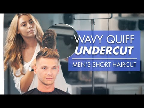 mens-short-hair-for-summer---wavy-quiff-undercut-2019