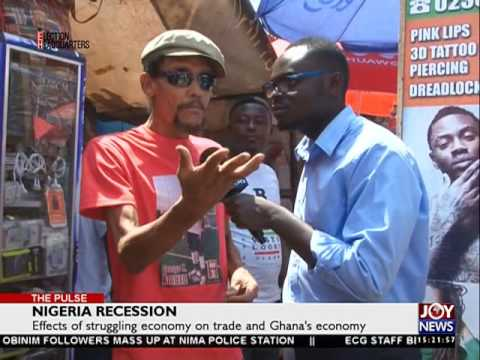 Nigeria recession - The Pulse on Joy News (24-8-16)