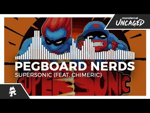 Pegboard Nerds - Supersonic (feat. Chimeric) [Monstercat Release]