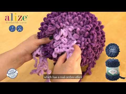 Представяне на Alize Puffy Fine Ombre Batik