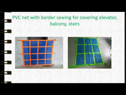 DESIGN CONSTRUCTION SAFETY NET WITH BORDER