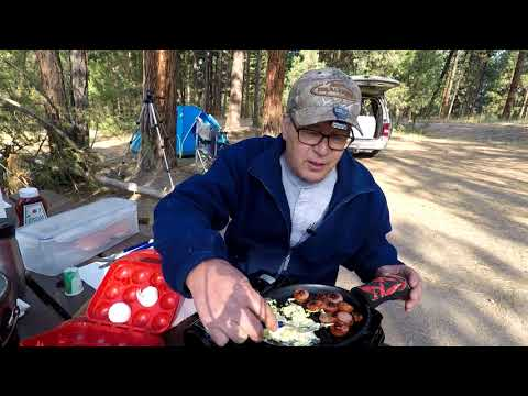 Car Camping: Fajita Skillet Breakfast