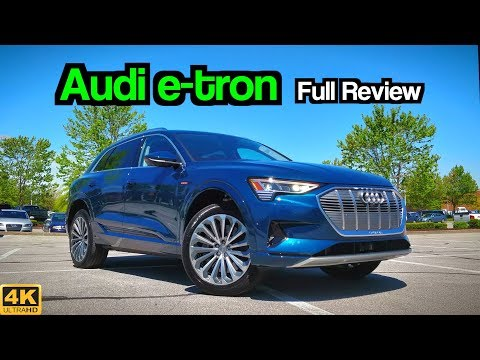 2019 Audi e-tron: FULL REVIEW + DRIVE | Tesla's Worst Nightmare!