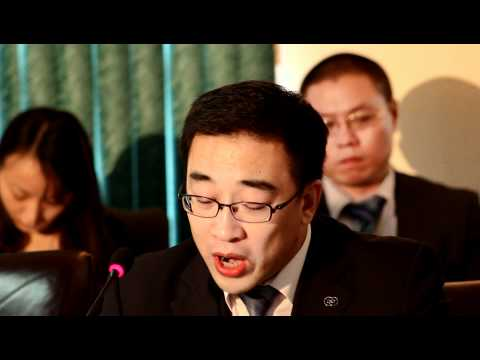 Mr. Li Rensong, Manager of the Export Import bank of China