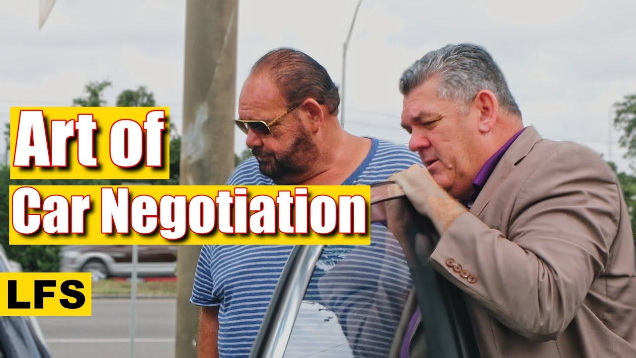 Art of Car Negotiation