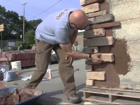 Learn how to Install your own cultured stone and veneer stone