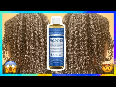 Repeat SHAMPOOING MY THICK CURLY HAIR WITH DR  BRONNER'S