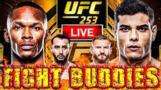 🔴 UFC 253: ADESANYA VS COSTA + REYES VS BLACHOWICZ LIVE FIGHT REACTION!