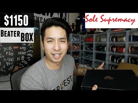 "$1150 Sole Supremacy Beater Box! ""The HEAT Returns?!"""