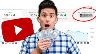 I Can't Believe How Much YouTube Paid Me!