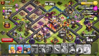 Clash of Clans - Quest to 4000 Trophies #9: Dealing with Drag/Hound CC
