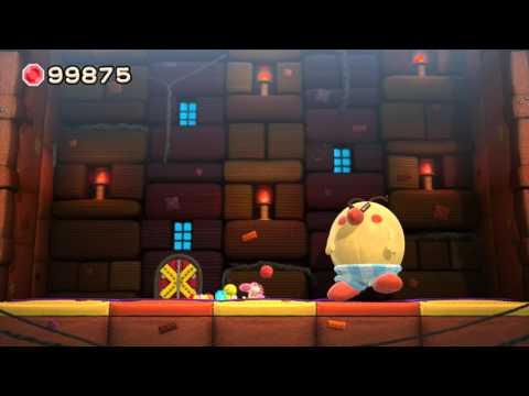 Yoshi's Woolly World Boss 2 - Burt the Bashful