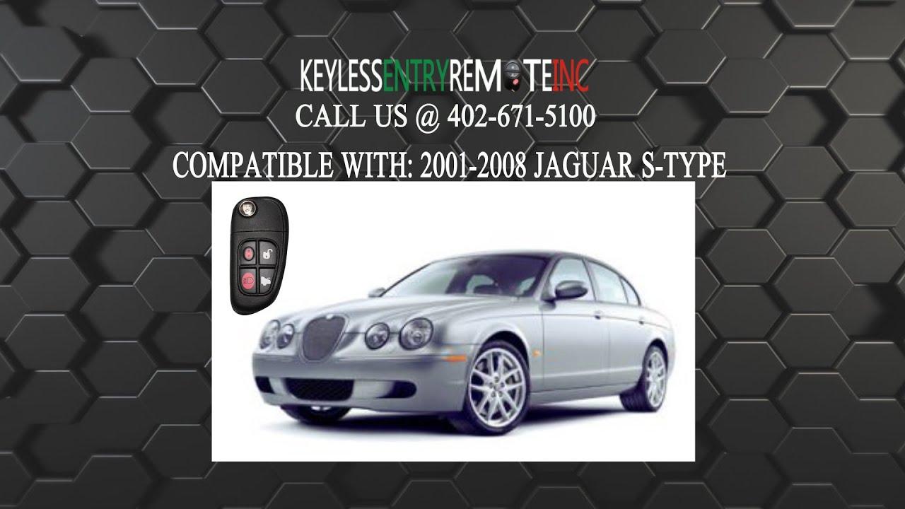 complete flip xj x jaguar type button products remote keys key xk transponder pro s car